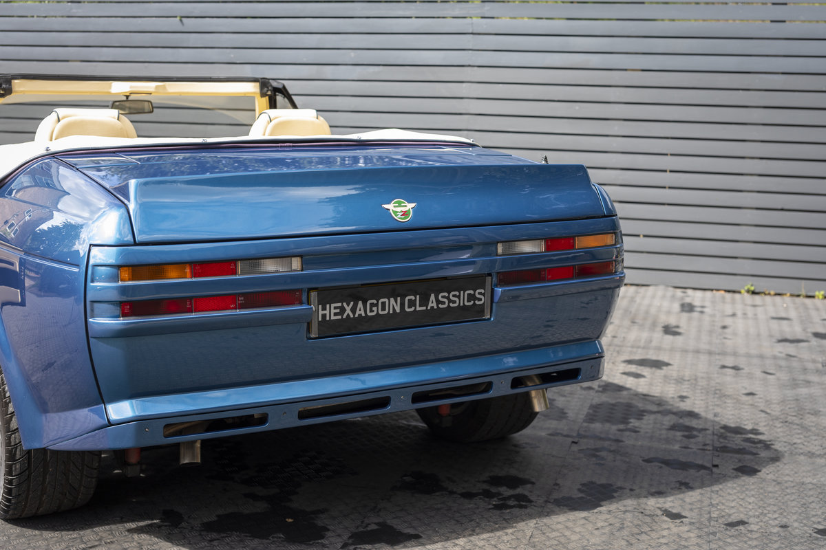 1989 ASTON MARTIN  V8 ZAGATO VOLANTE For Sale (picture 10 of 22)