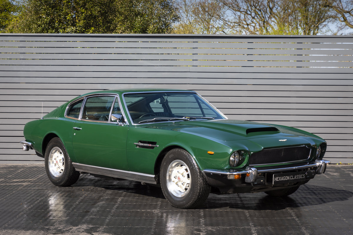 1974 ASTON MARTIN V8 AUTO MK3 ONLY 37200 MILES For Sale (picture 1 of 18)