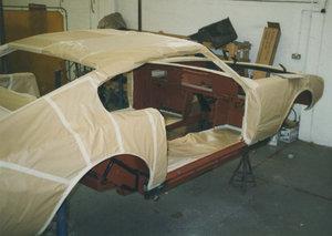 1972 Aston Martin DBS V8 restoration project