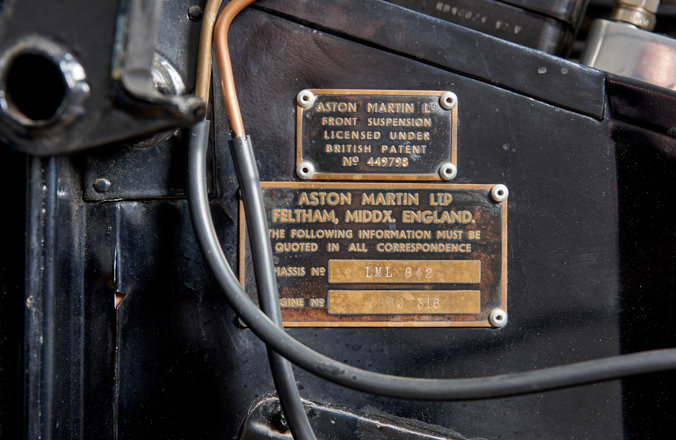 1955 Aston Martin DB2/4 Saloon For Sale (picture 6 of 6)