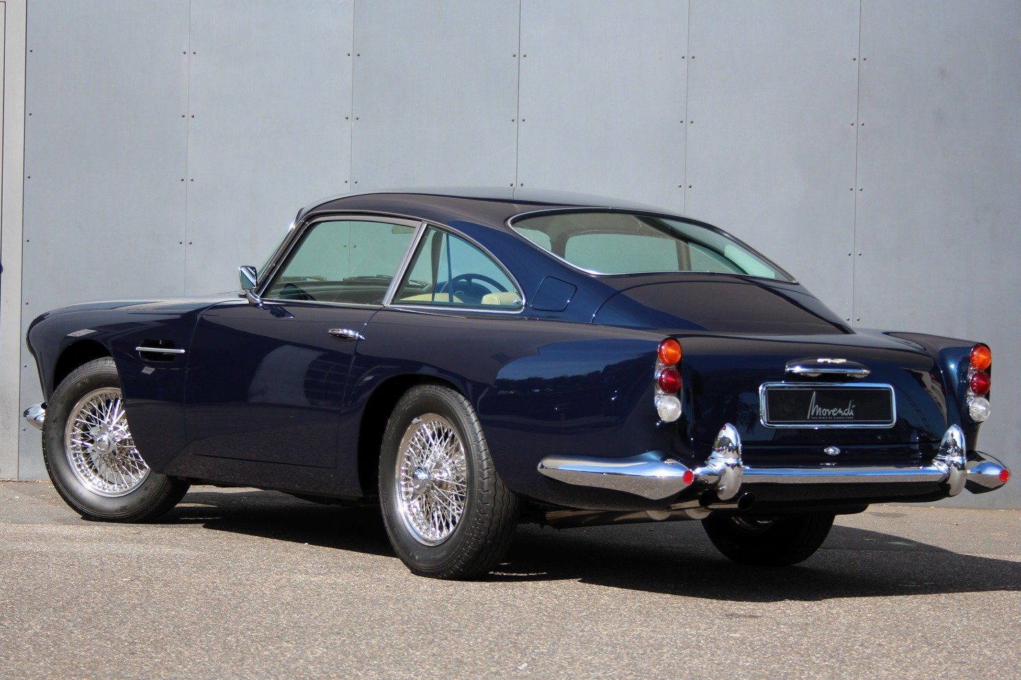 1963 Aston Martin DB4 Series V RHD - Ex. Victor Gaunlett For Sale (picture 2 of 6)