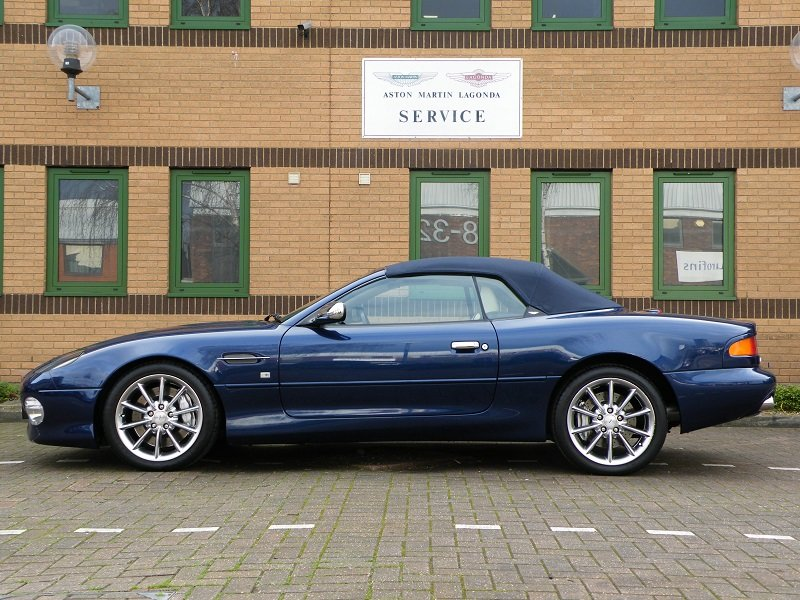 2002 DB7 Vantage Volante Jubilee For Sale (picture 3 of 6)