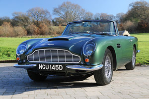 1966 Aston Martin Short Chassis Volante One of only 37  For Sale