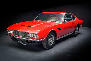 1970 Aston Martin DBS VANTAGE 1970 BARCELONA´S MOTOR SHOW For Sale