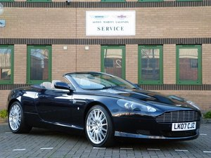 2007 DB9 Volante. Manual