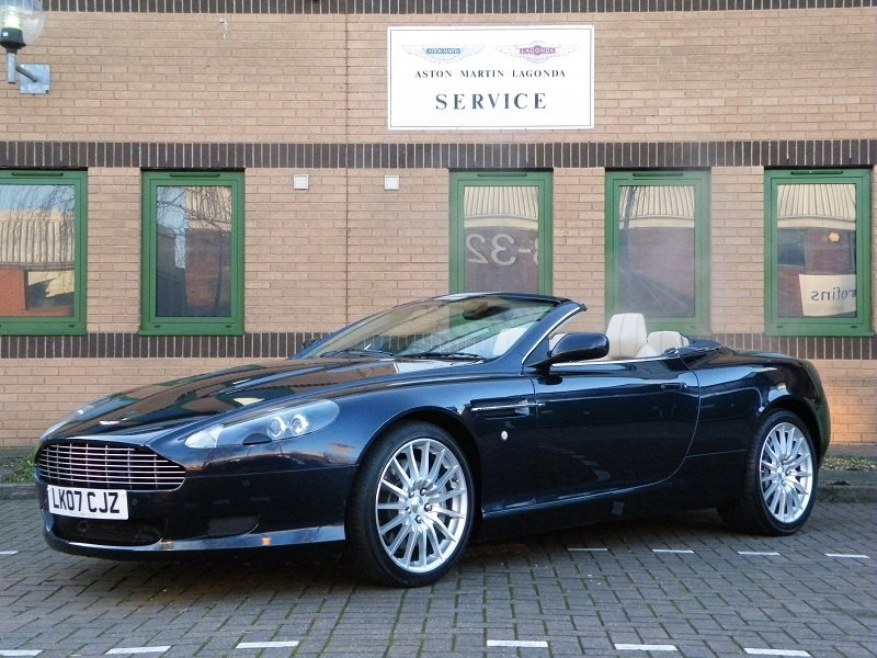 2007 DB9 Volante. Manual For Sale (picture 2 of 6)