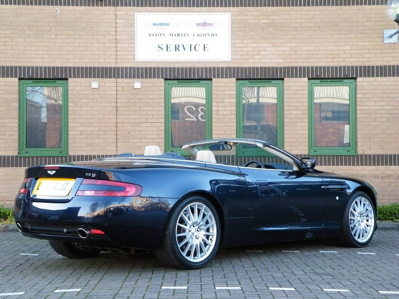 2007 DB9 Volante. Manual For Sale (picture 3 of 6)