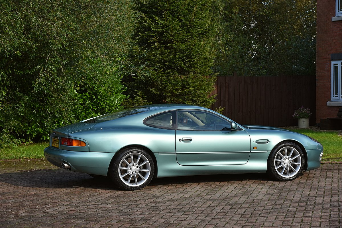 2000 ASTON MARTIN DB7 VANTAGE 6.0 V12 MANUAL (6spd)  For Sale (picture 1 of 6)
