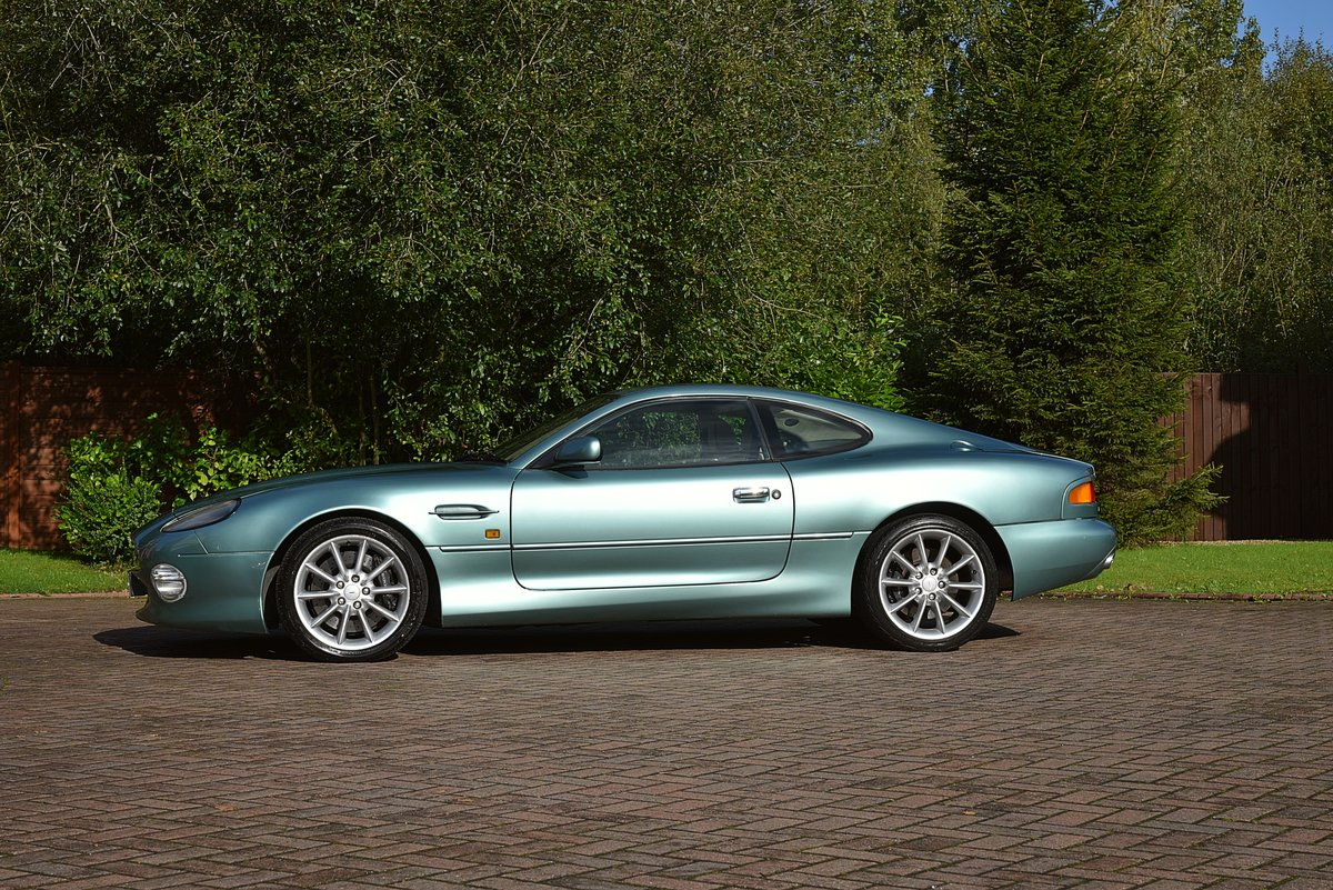 2000 ASTON MARTIN DB7 VANTAGE 6.0 V12 MANUAL (6spd)  For Sale (picture 2 of 6)