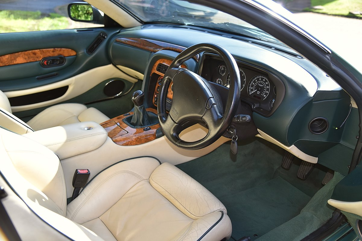 2000 ASTON MARTIN DB7 VANTAGE 6.0 V12 MANUAL (6spd)  For Sale (picture 3 of 6)