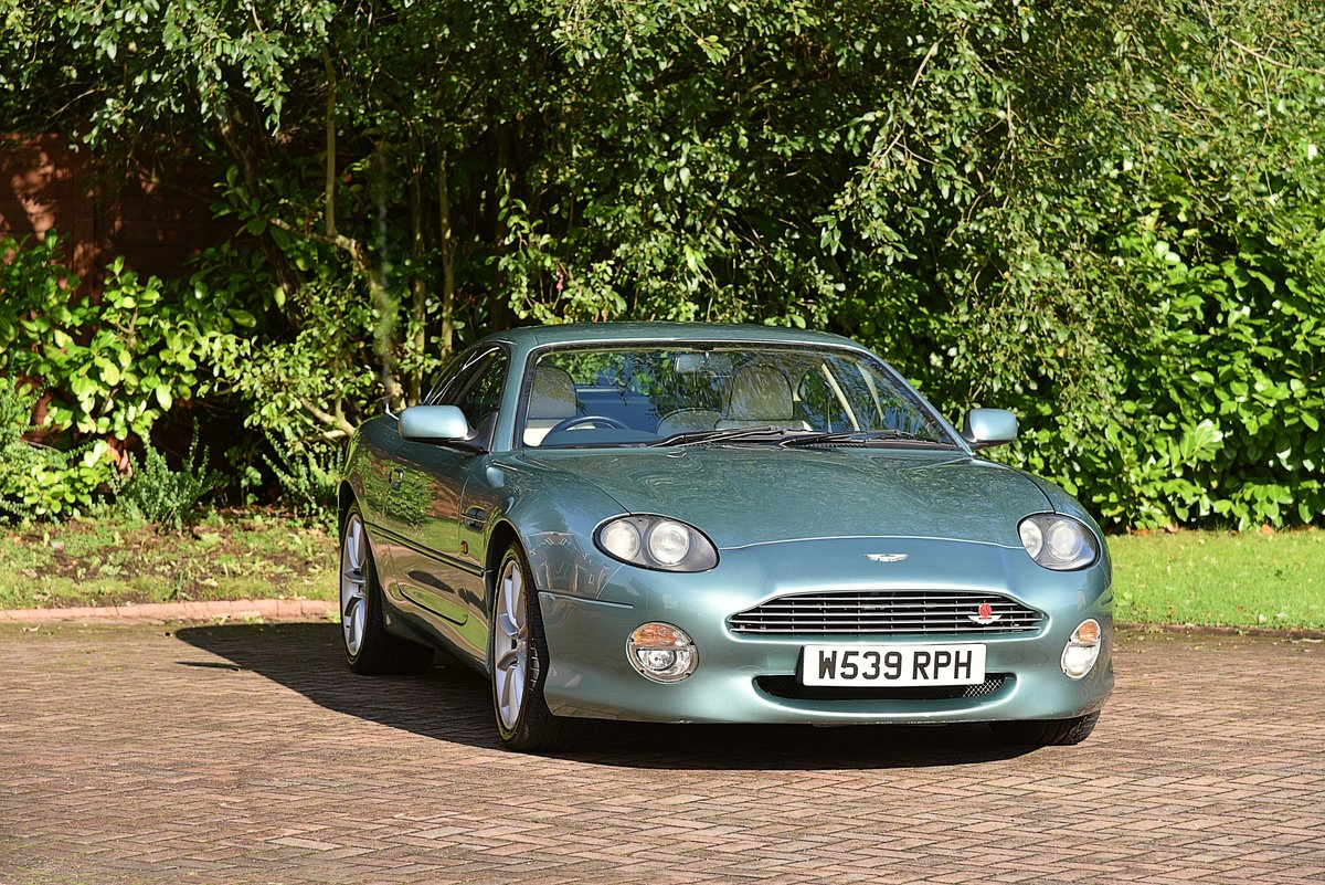2000 ASTON MARTIN DB7 VANTAGE 6.0 V12 MANUAL (6spd)  For Sale (picture 6 of 6)
