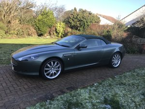 2005 Aston Martin DB9 volante  Manual 6 speed very RARE