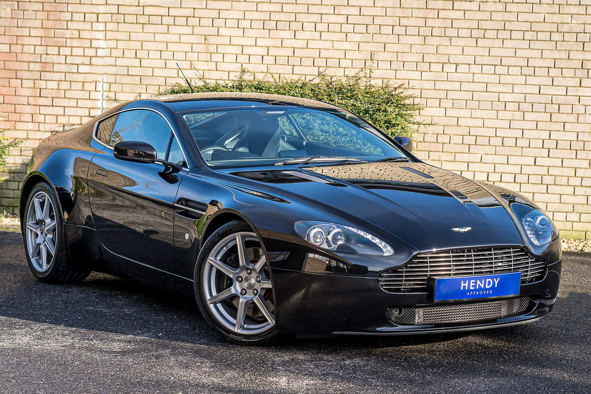 2006 Aston Martin Vantage V8 Coupe 4.3 Manual For Sale (picture 1 of 6)