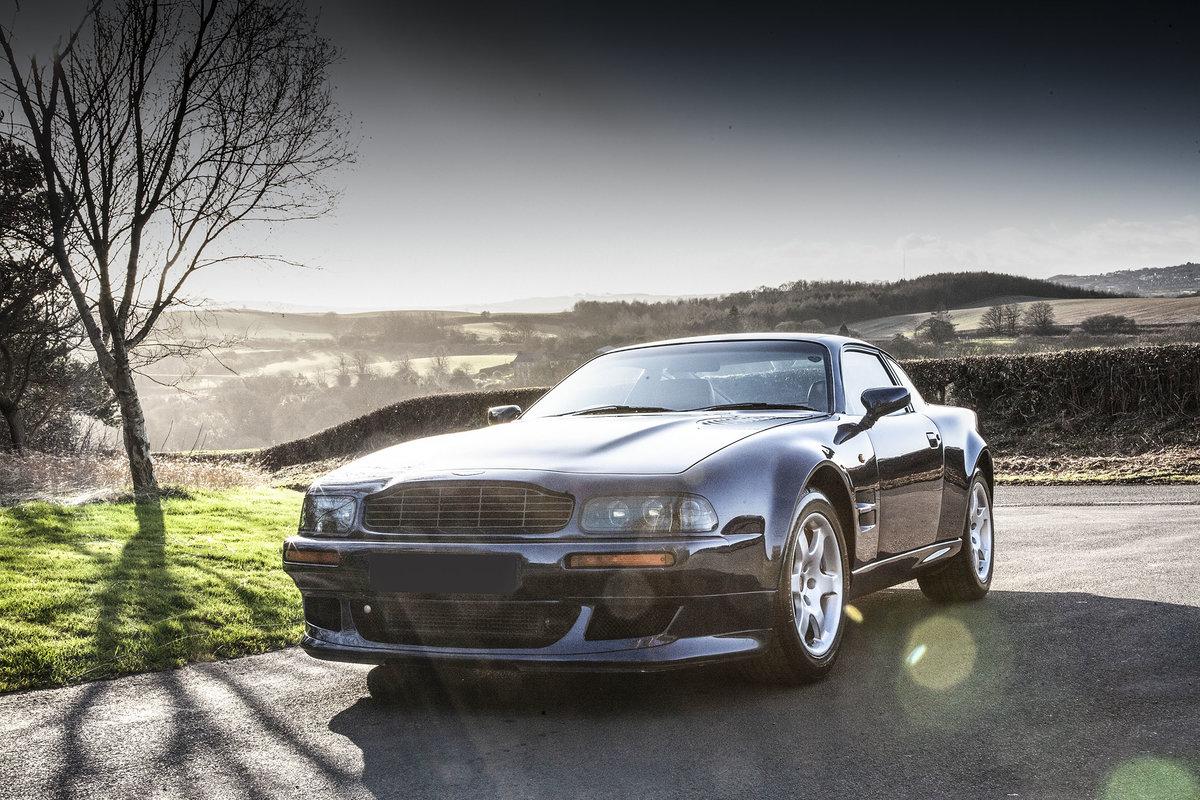 1996 Aston Martin V8 Vantage V550 (V600 Works Upgrade) For Sale (picture 1 of 6)