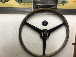 1964 ASTON MARTIN PARTS, SALES BROCHURES, STEERING WHEEL ETC For Sale