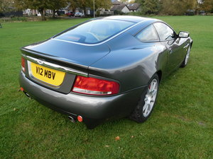 2002 Aston Martin Vanquish SDP 18800 miles only