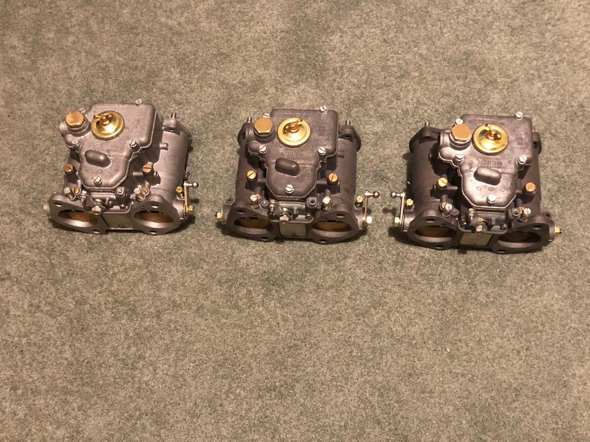 1963 Aston Martin DB5 Vantage Weber Carburettors 45 DCOE SOLD (picture 1 of 4)