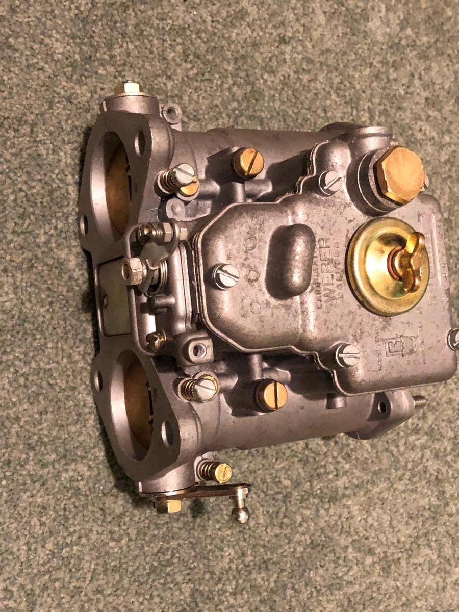 1963 Aston Martin DB5 Vantage Weber Carburettors 45 DCOE SOLD (picture 2 of 4)