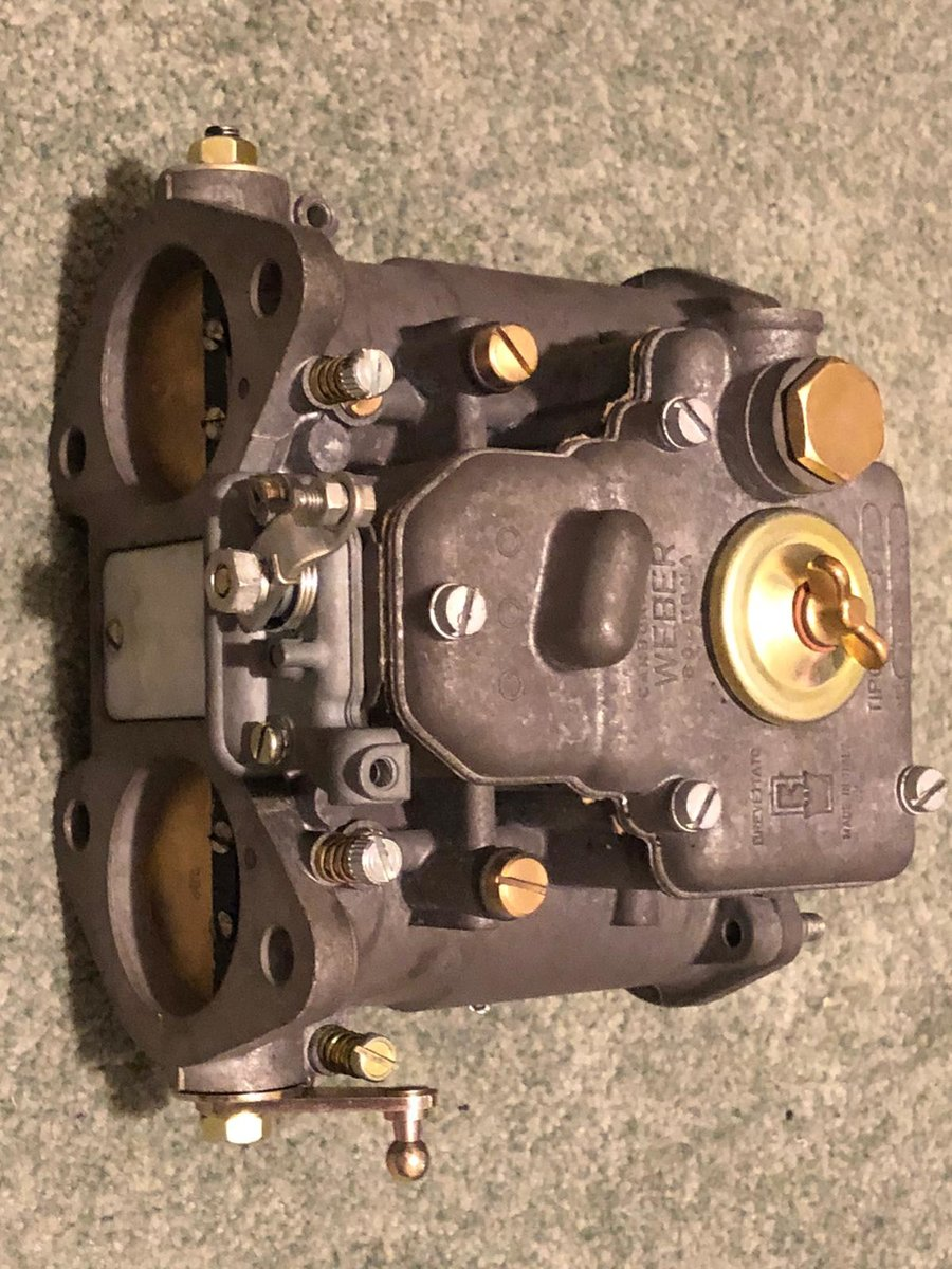 1963 Aston Martin DB5 Vantage Weber Carburettors 45 DCOE SOLD (picture 3 of 4)