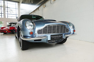 1969 stunning restored DB6 Mk1, Sapphire Blue, Oxblood leather For Sale