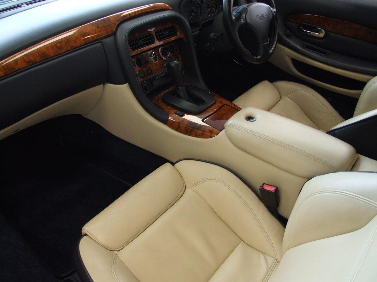 Aston Martin DB7 5.9 Vantage 2dr KA51CJA 2001 (51) 37,000 mi For Sale (picture 2 of 6)