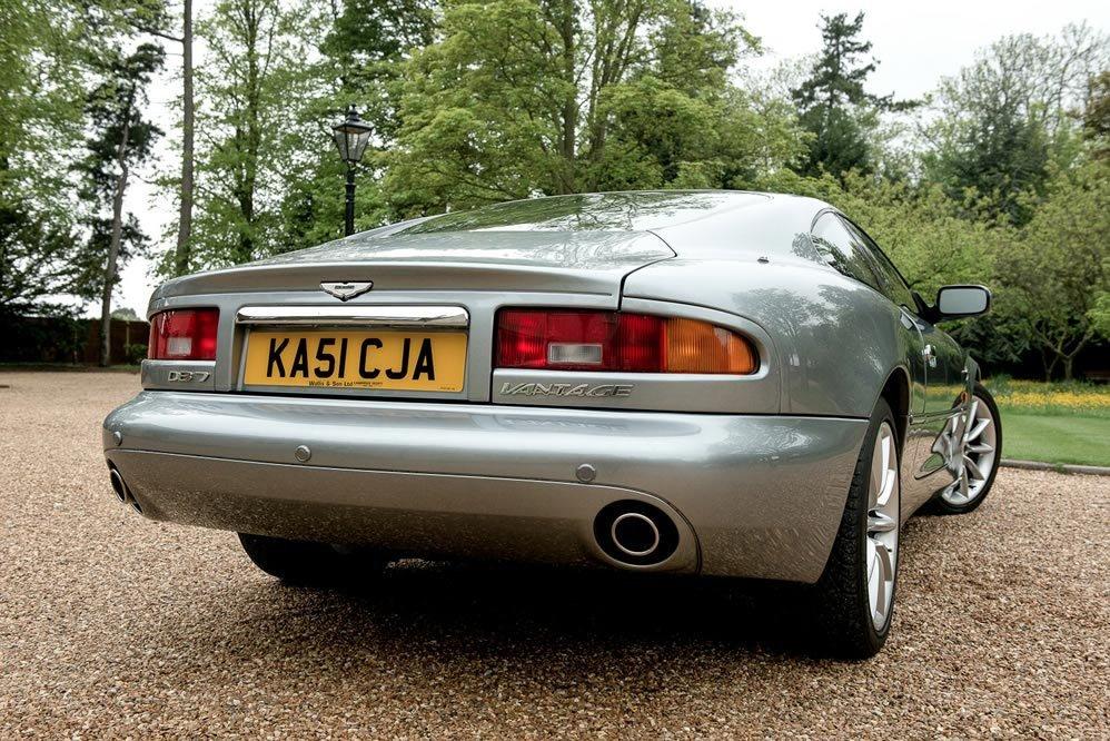 Aston Martin DB7 5.9 Vantage 2dr KA51CJA 2001 (51) 37,000 mi For Sale (picture 3 of 6)
