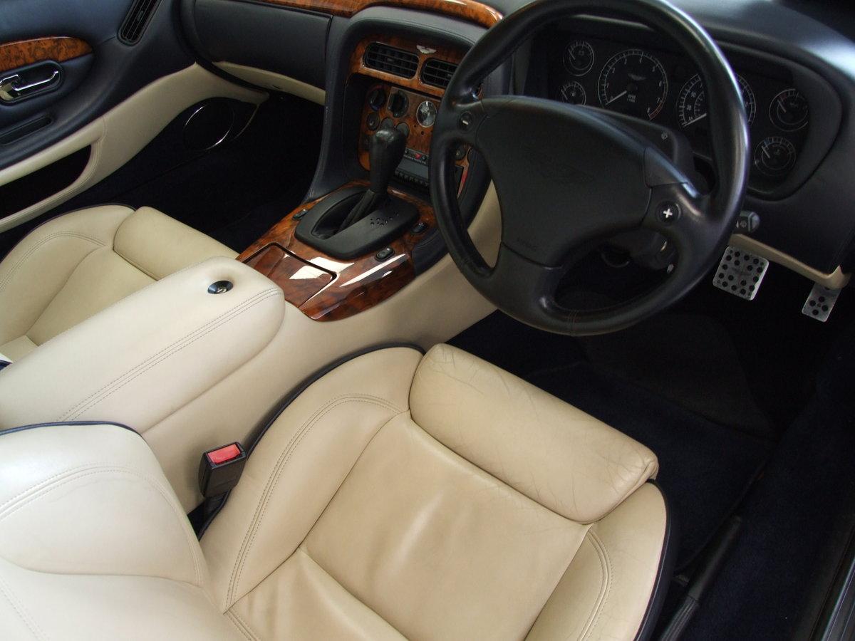 Aston Martin DB7 5.9 Vantage 2dr KA51CJA 2001 (51) 37,000 mi For Sale (picture 4 of 6)