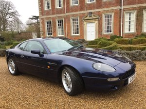 1997 Aston Martin DB7 3.2 supercharged . Low mileage
