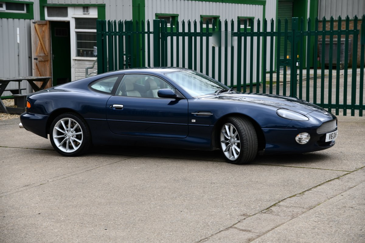 2001 Aston Martin DB7 Vantage Coupe For Sale (picture 1 of 6)