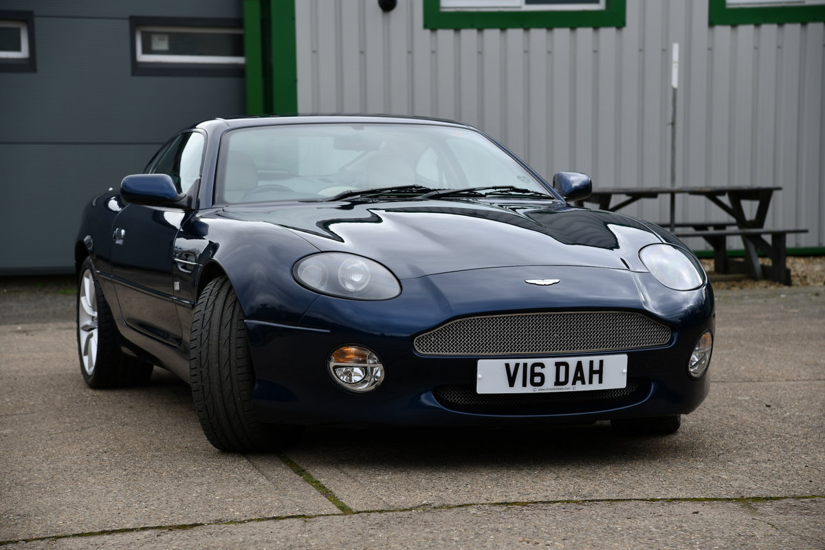 2001 Aston Martin DB7 Vantage Coupe For Sale (picture 3 of 6)