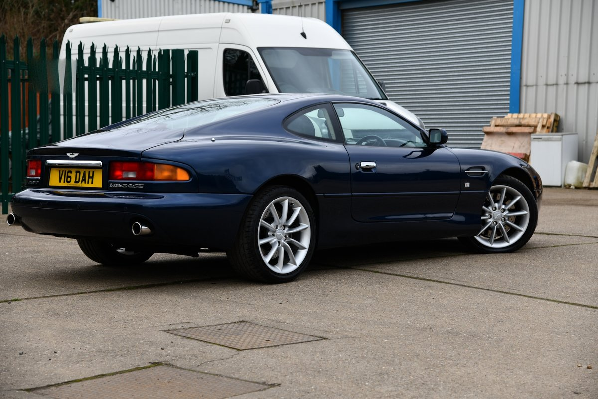 2001 Aston Martin DB7 Vantage Coupe For Sale (picture 4 of 6)