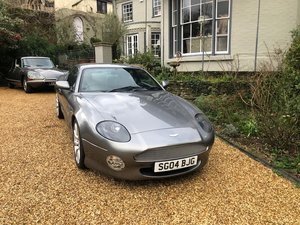 2004 Aston Martin DB7 V12 Vanatge Only 16,000 Miles !!!