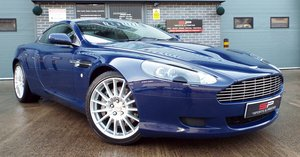 2006 Aston Martin DB9 Coupe 5.9 V12 Special Order Monaco Blue For Sale