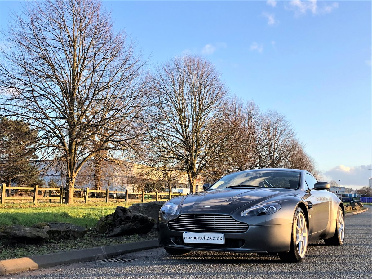 2006 Aston Martin V8 Vantage 4.3 Coupe Manual SOLD (picture 1 of 6)