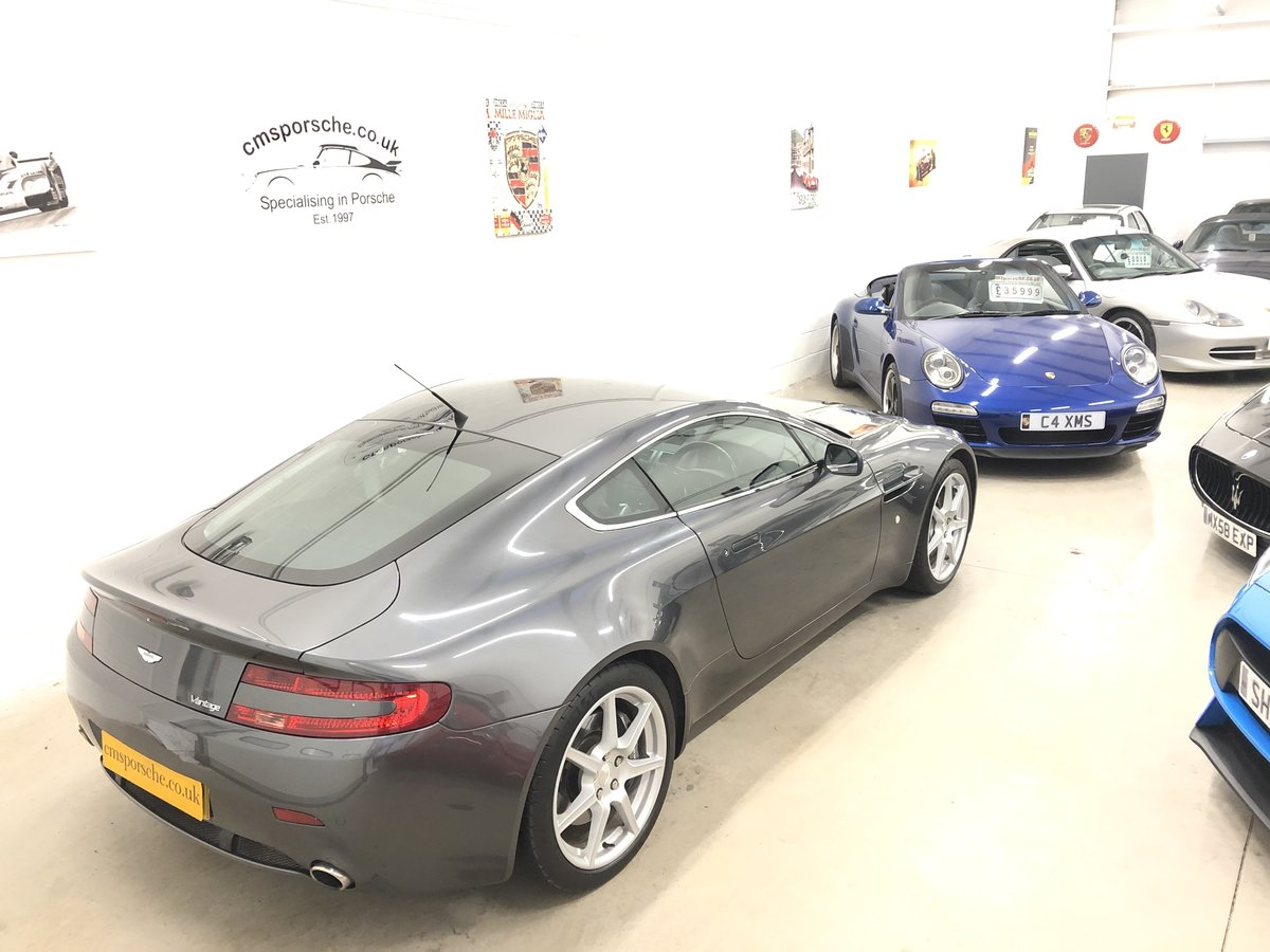 2006 Aston Martin V8 Vantage 4.3 Coupe Manual SOLD (picture 3 of 6)