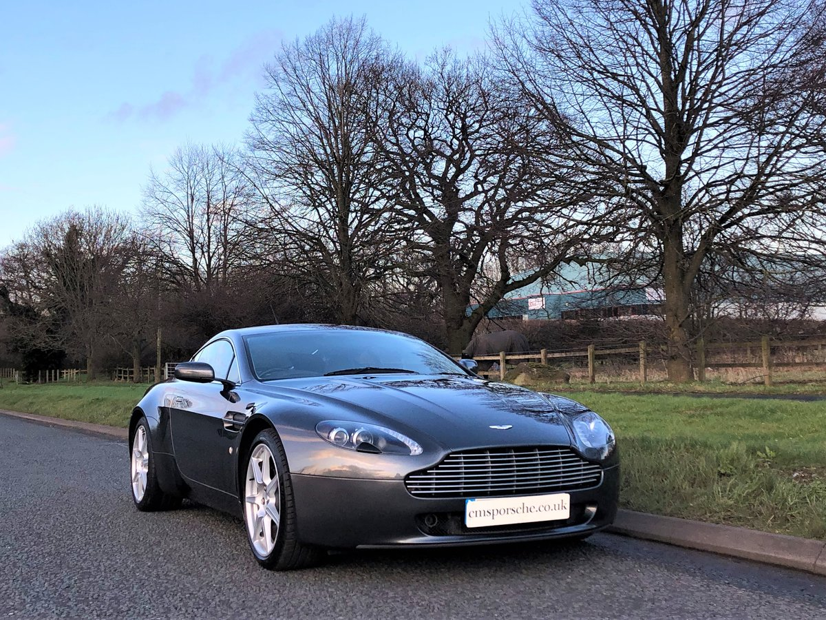 2006 Aston Martin V8 Vantage 4.3 Coupe Manual SOLD (picture 4 of 6)