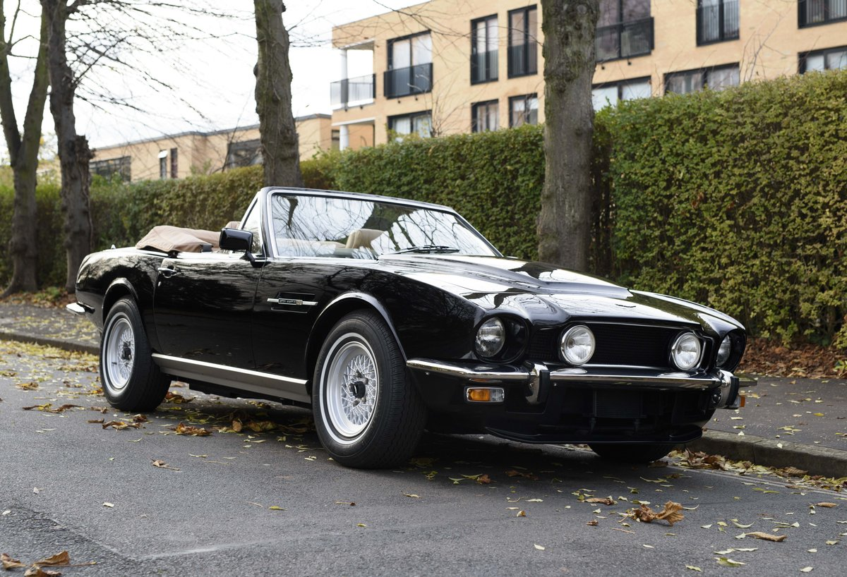1986 Aston Martin V8 Volante For Sale In London (LHD) For Sale (picture 2 of 23)