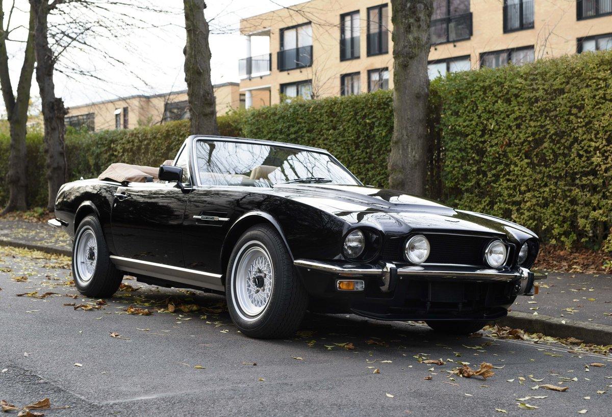 1986 Aston Martin V8 Volante (LHD) For Sale (picture 2 of 23)