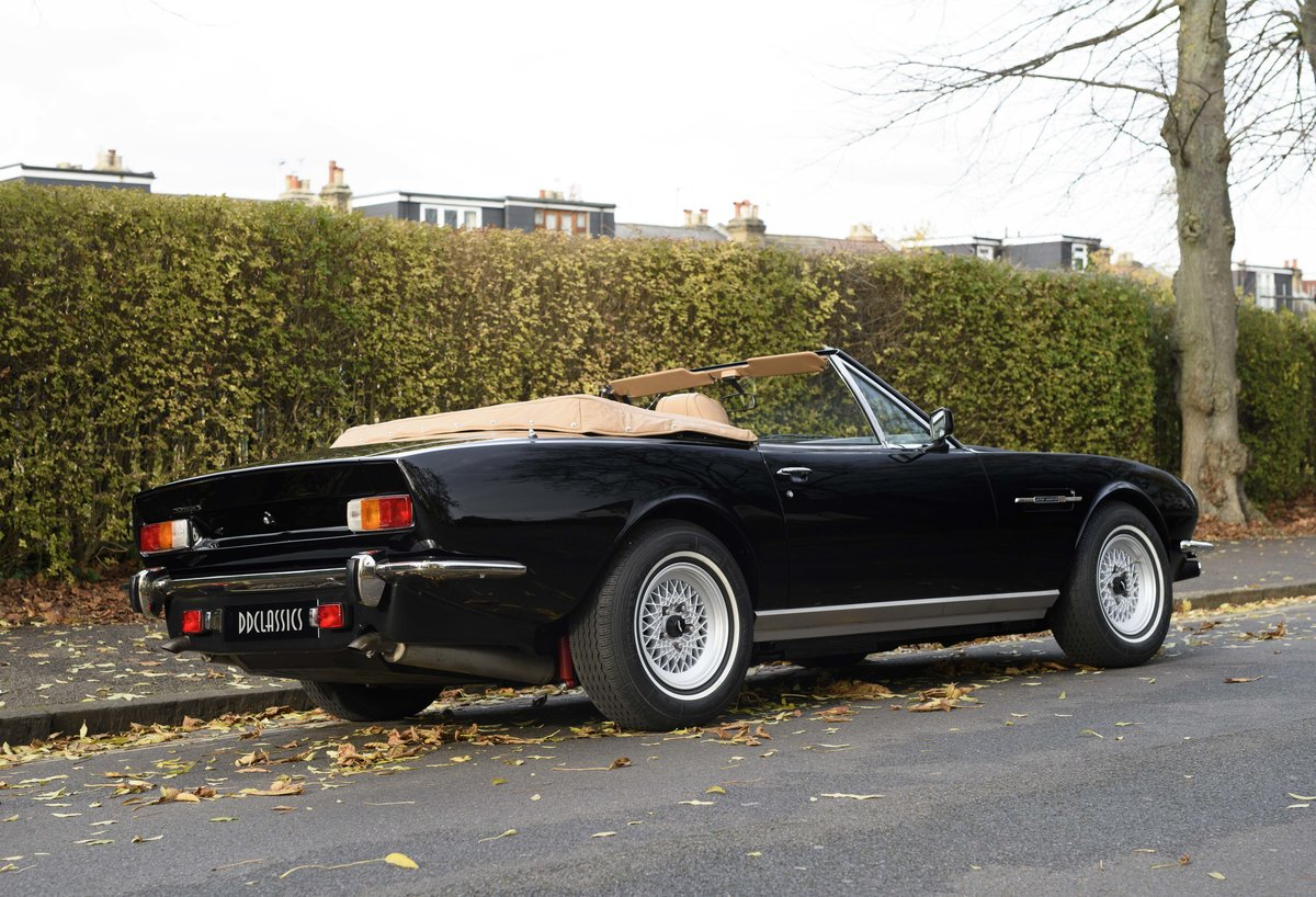 1986 Aston Martin V8 Volante For Sale In London (LHD) For Sale (picture 3 of 23)