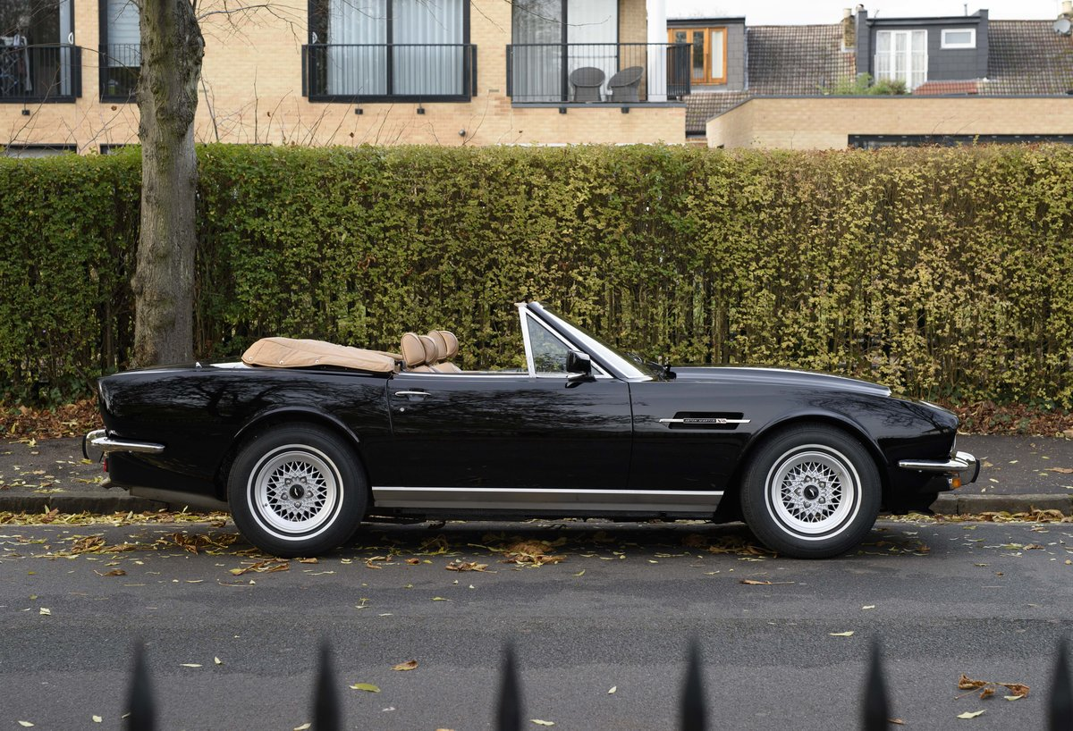 1986 Aston Martin V8 Volante For Sale In London (LHD) For Sale (picture 5 of 23)
