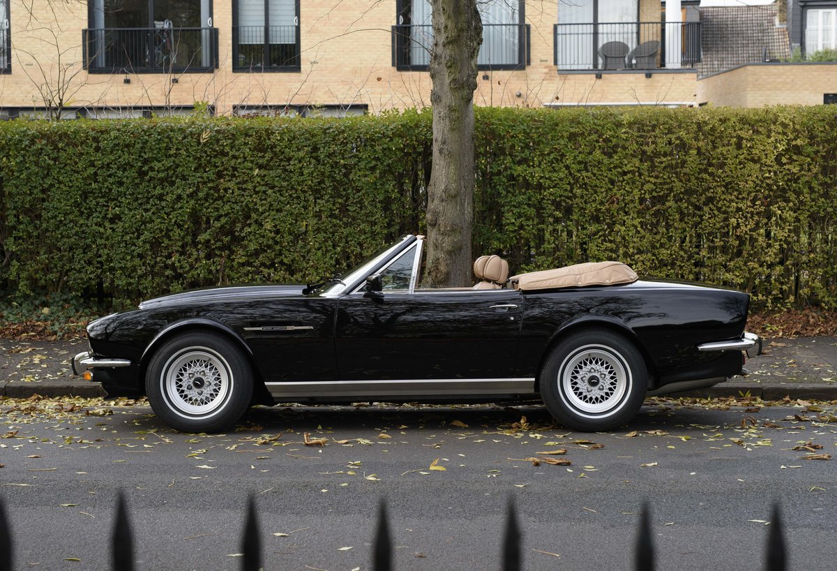 1986 Aston Martin V8 Volante For Sale In London (LHD) For Sale (picture 6 of 23)