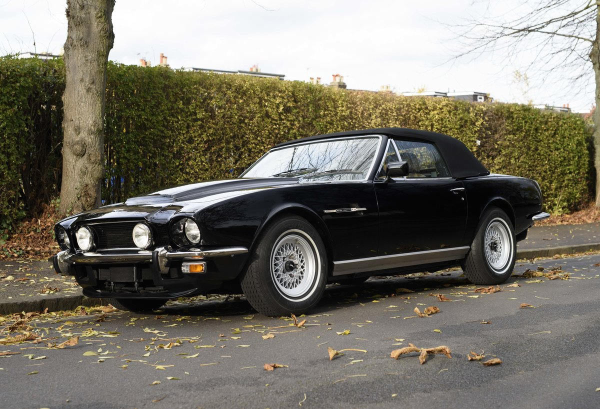 1986 Aston Martin V8 Volante For Sale In London (LHD) For Sale (picture 7 of 23)