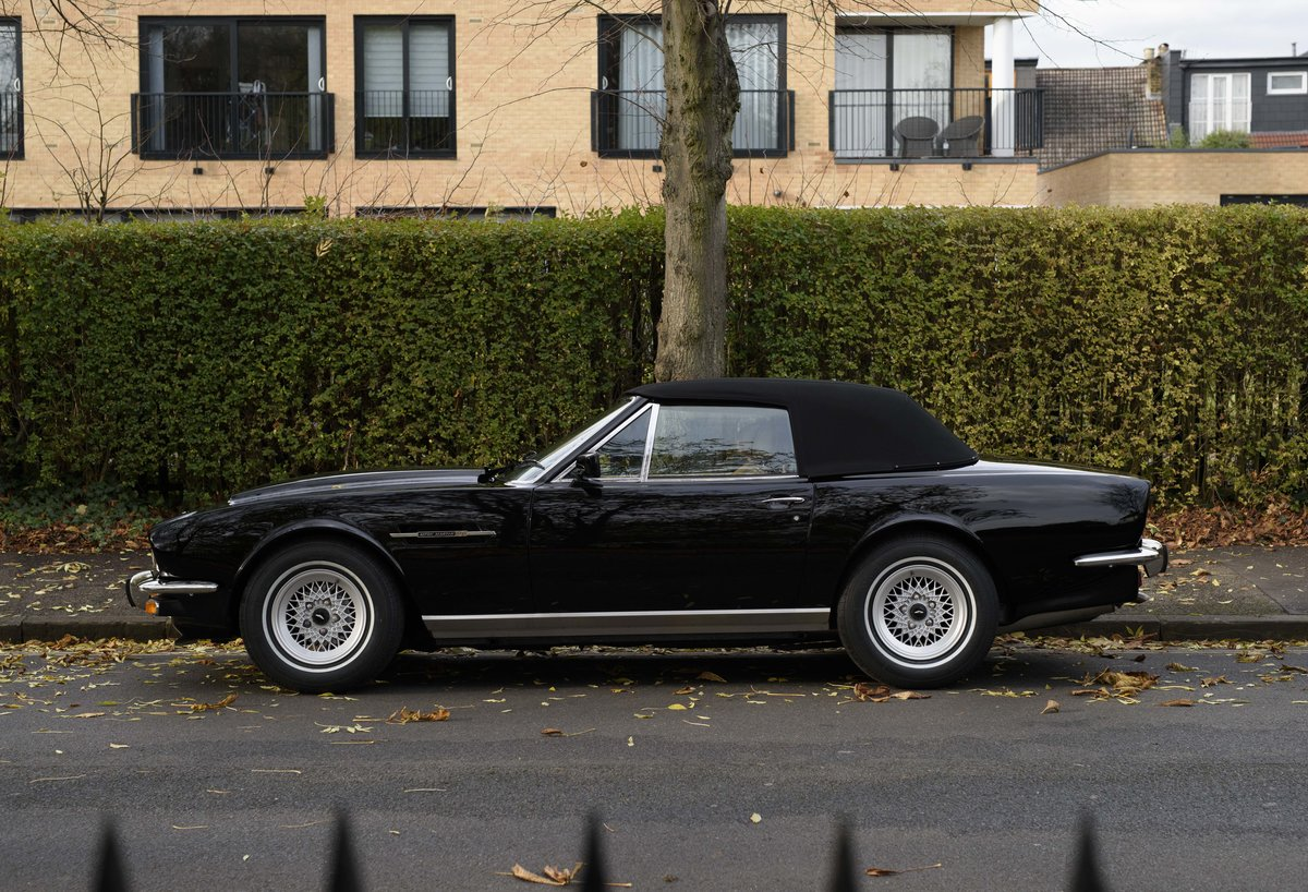 1986 Aston Martin V8 Volante For Sale In London (LHD) For Sale (picture 8 of 23)