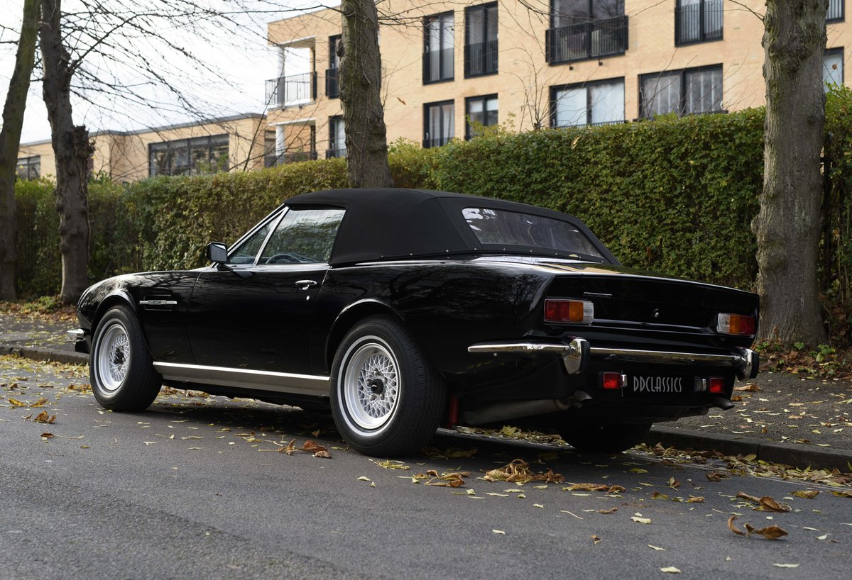 1986 Aston Martin V8 Volante For Sale In London (LHD) For Sale (picture 9 of 23)