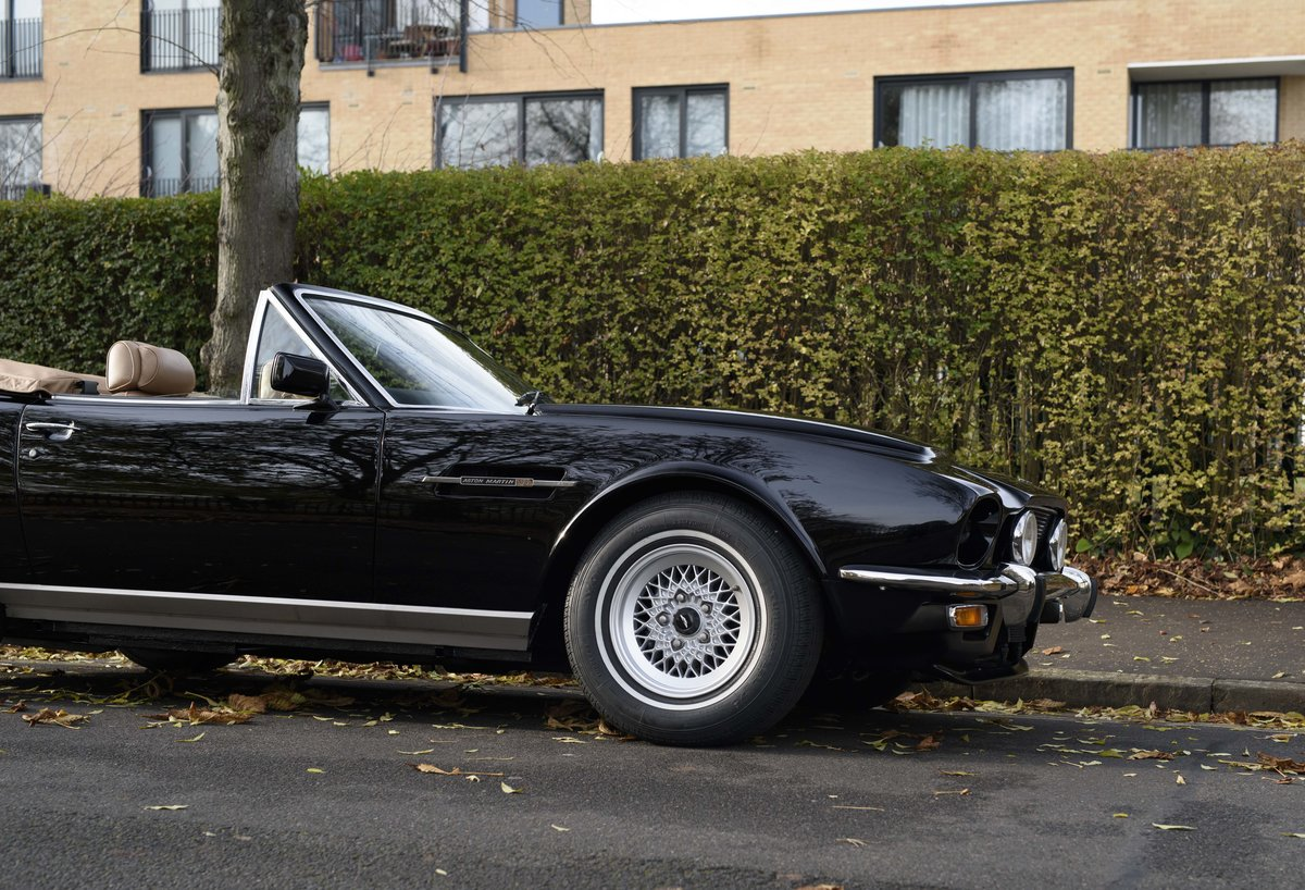 1986 Aston Martin V8 Volante For Sale In London (LHD) For Sale (picture 11 of 23)
