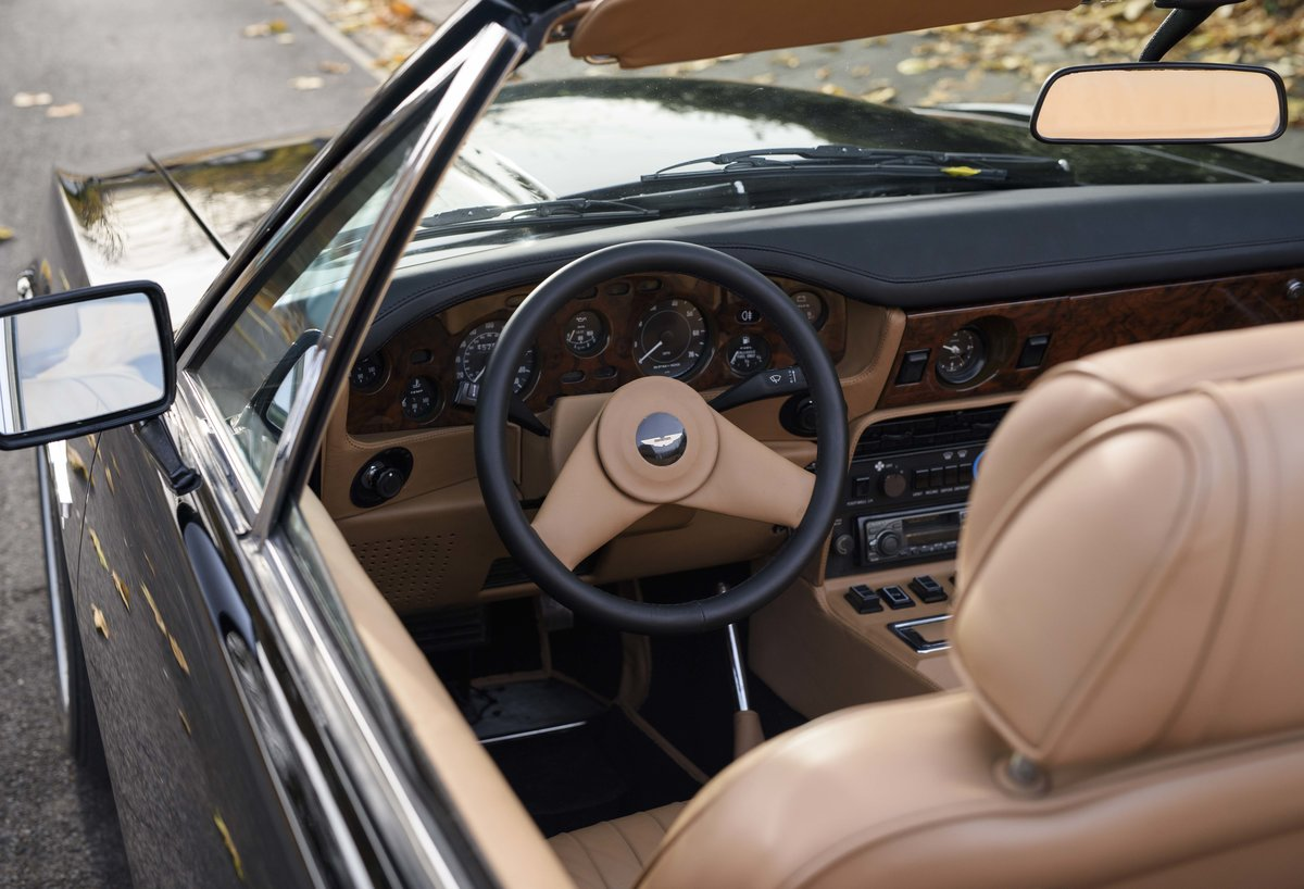 1986 Aston Martin V8 Volante For Sale In London (LHD) For Sale (picture 14 of 23)