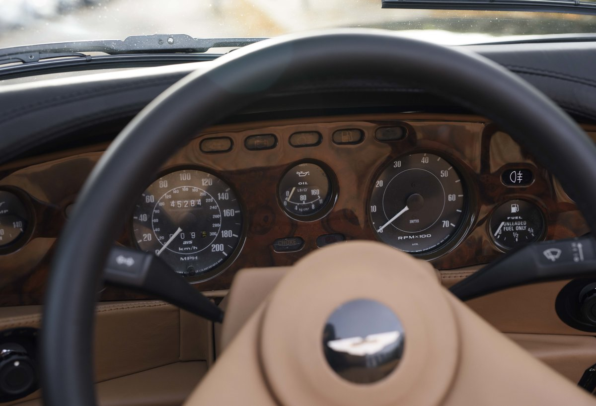 1986 Aston Martin V8 Volante For Sale In London (LHD) For Sale (picture 15 of 23)