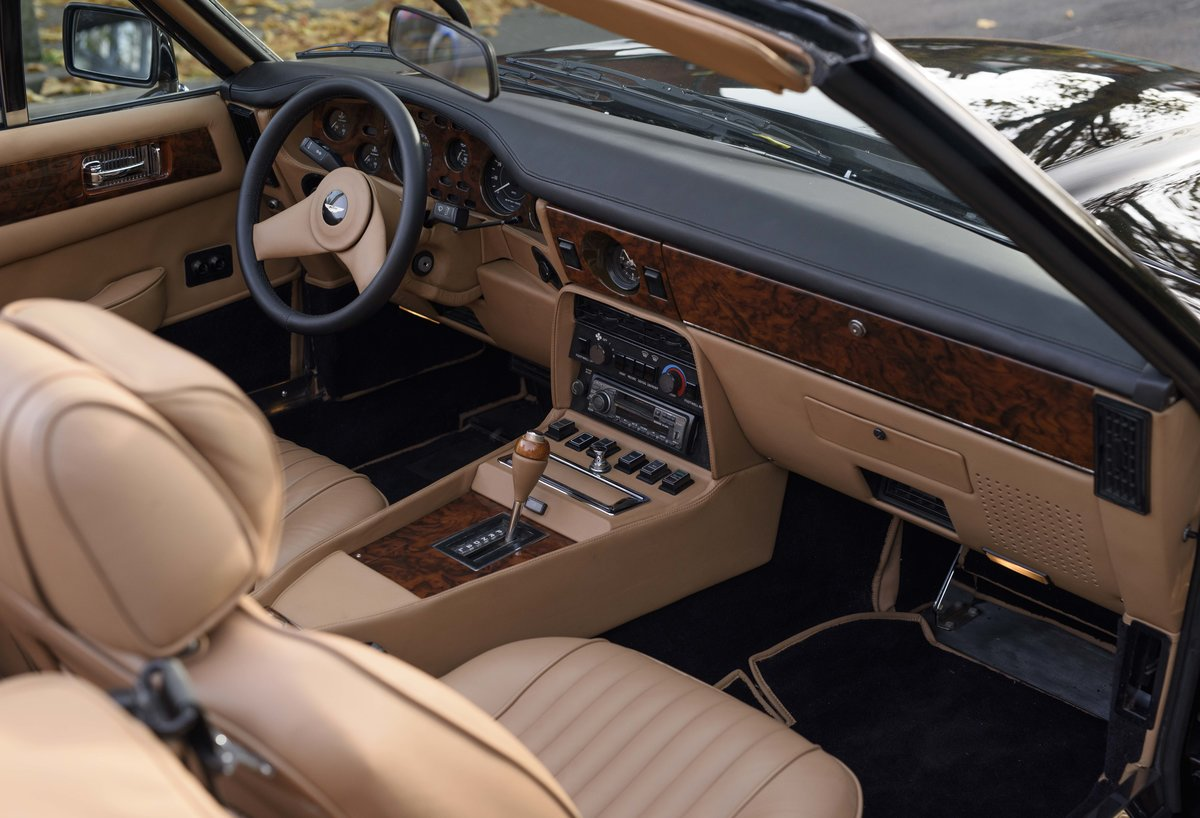 1986 Aston Martin V8 Volante For Sale In London (LHD) For Sale (picture 16 of 23)