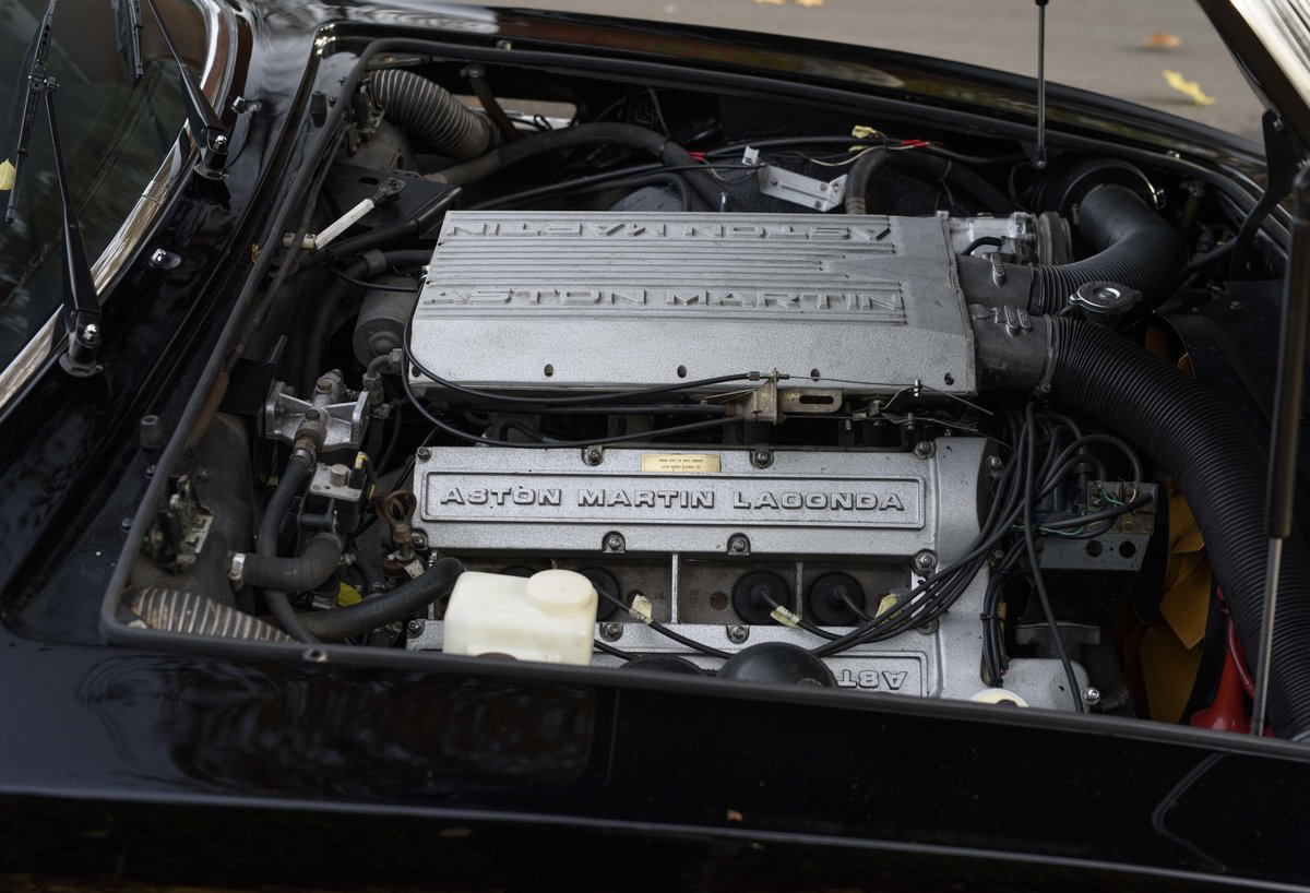 1986 Aston Martin V8 Volante For Sale In London (LHD) For Sale (picture 22 of 23)
