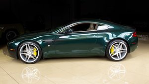 2007 Aston Martin Vantage Coupe 6 spd Manual Green $44.9k For Sale